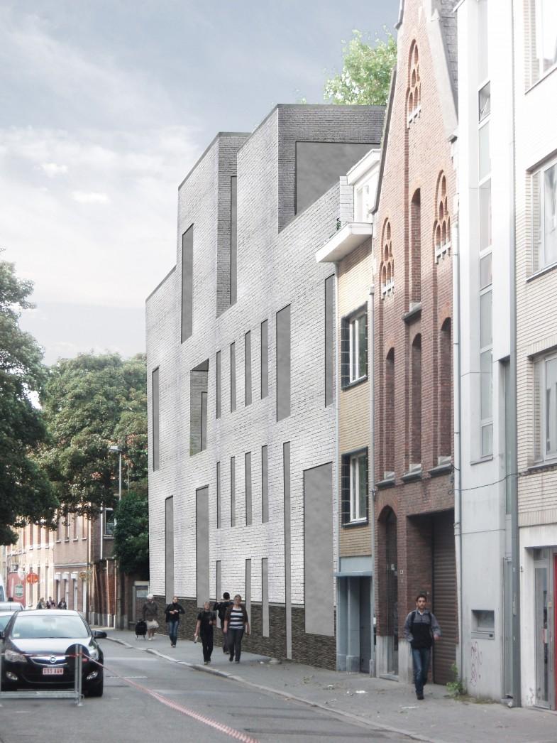 Streetview from Lange Winkelstraat