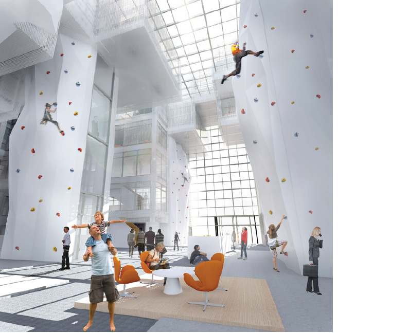 climbing hall