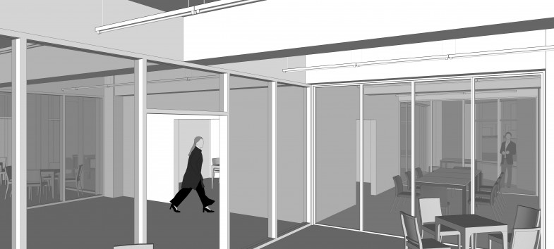 4층 (노동스페이스, 건강증진센터)_흑백